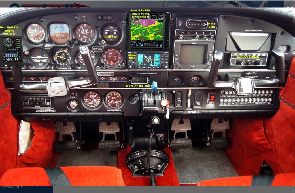 N82965 new panel